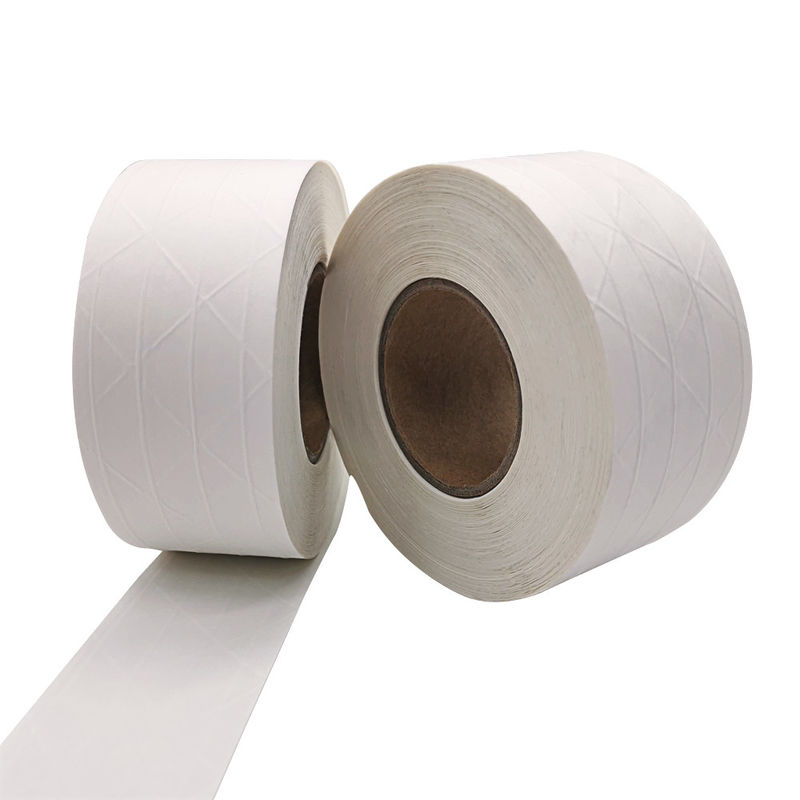 High Tensile Strength Water Activated White Reinforced Kraft Sealing Tape